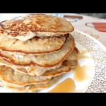 Gluten Free, Paleo, Banana Pancakes in 1.5 Minutes