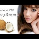 5 Coconut Oil Beauty Secrets