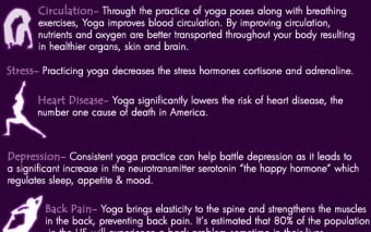 8 Health Benefits of Yoga (Infographic)