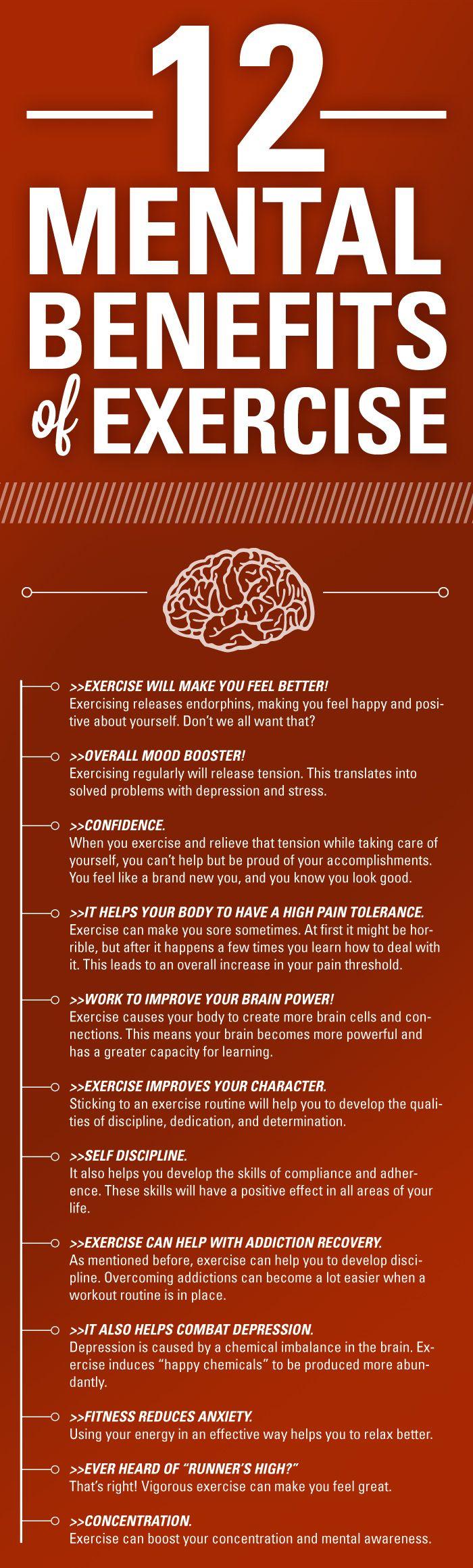 three benefits of exercise essay