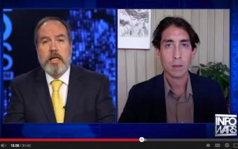 Infowars Nightly News: Sayer Ji on CDC 'Vaccine gate' & ALS Ice-Washing – Start at 15:45