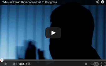 CDC Whistleblower Thompson's Call to Congress: Investigate!