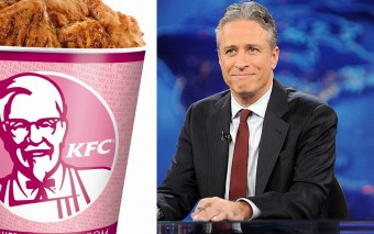 Jon Stewart Takes on Pink Washing and The Result is Hilarious