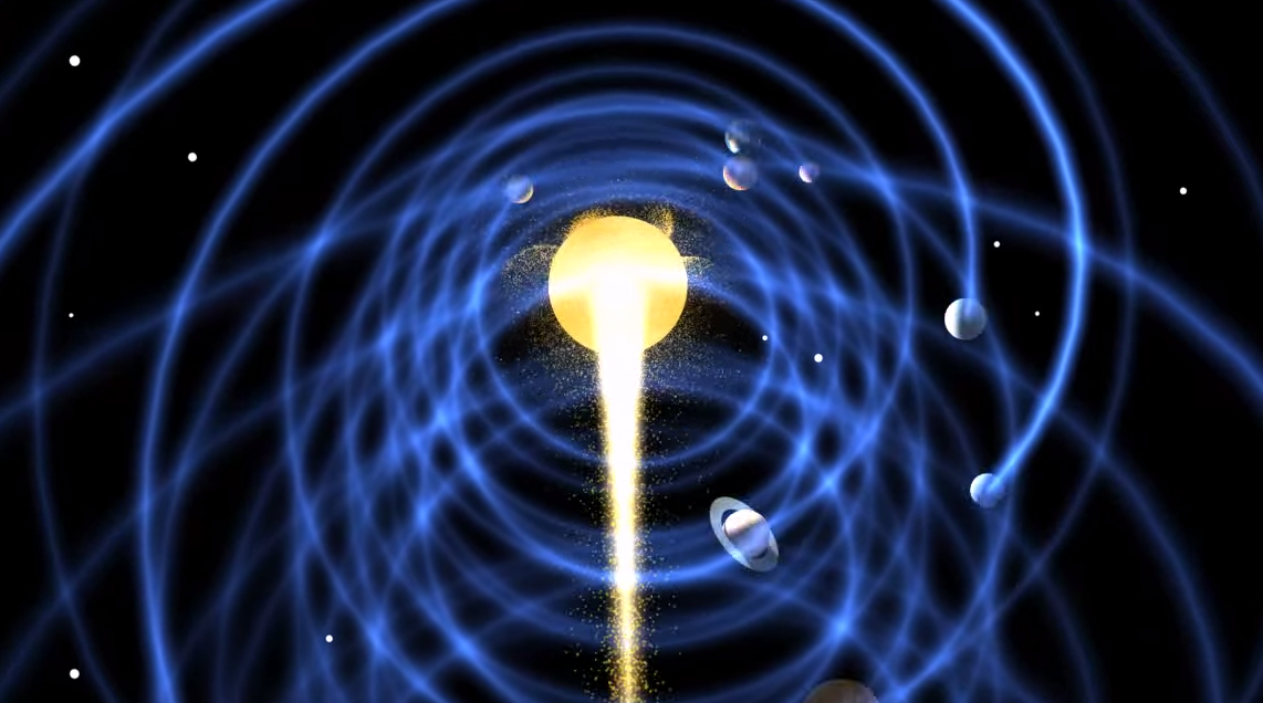 Amazing Our Solar System Is A Vortex 3 Minute Vid